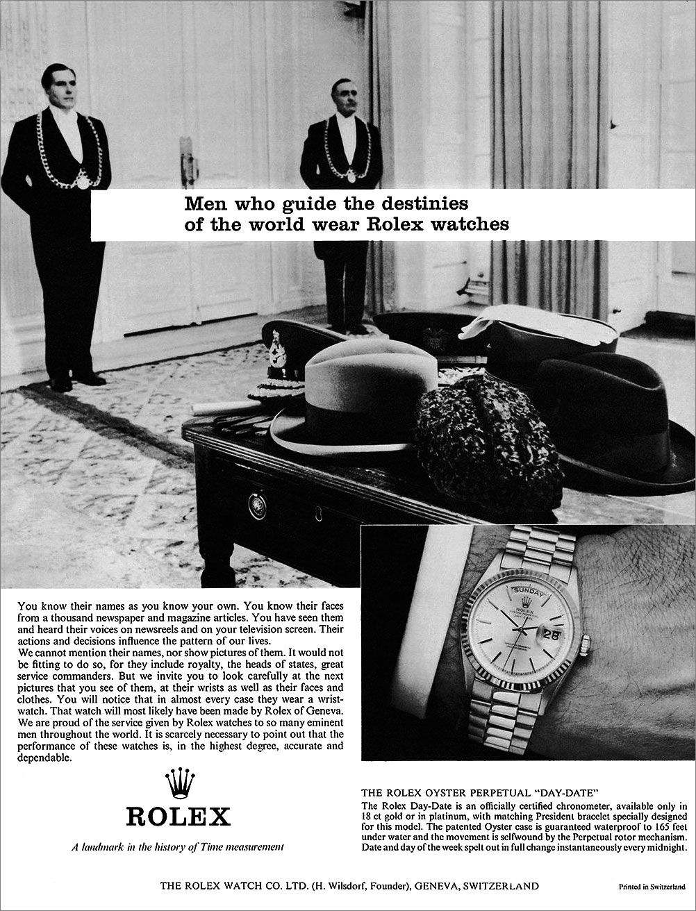 1964-Men-Who-Guide-The-Destinies-Of-The-World-Wear-Rolex-Watches